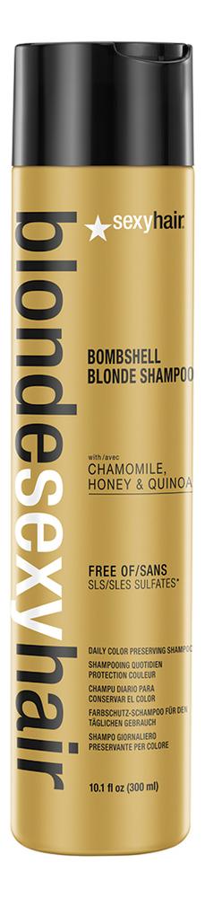Шампунь для сохранения цвета без сульфатов Blonde Sulfate-Free Bombshell Blonde Shampoo: Шампунь 300мл