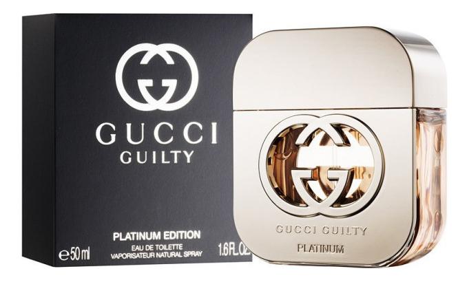 Фото - Gucci Guilty Platinum: туалетная вода 50мл пластиковый конструктор decool 3419 3419
