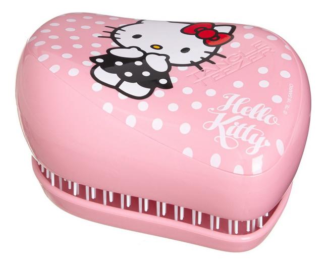 Расческа для волос Compact Styler Hello Kitty Pink