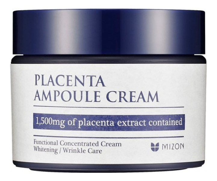 Плацентарный крем Placenta Ampoule Cream 50мл dr select шампунь placenta shampoo ех плацентарный 500 мл