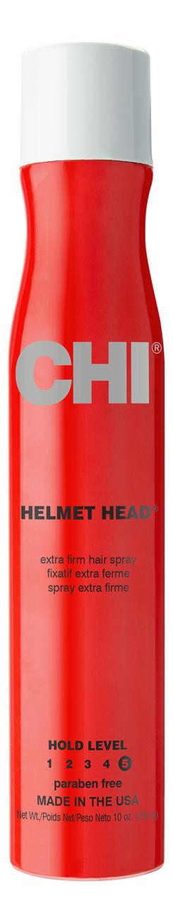 Лак для волос Голова в каске Helmet Head Extra Firm Hair Spray 284г: Лак 284г лак для волос extra control fragrance free hair spray 400мл