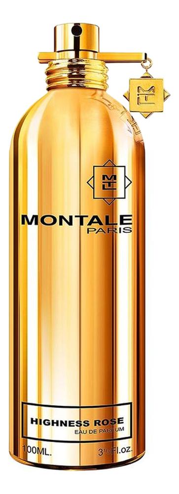 Montale Highness Rose : парфюмерная вода 100мл тестер montale aoud sense туалетные духи тестер 100 мл