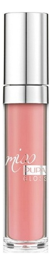 Блеск для губ Miss Pupa Gloss 5мл: 201 Tender Apricot clarins eclat minute блеск для губ 02 apricot shimmer