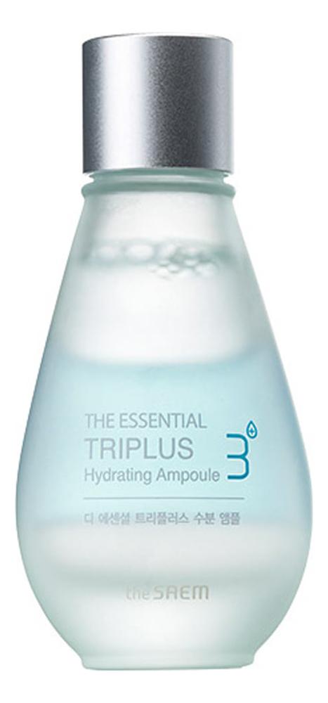 Трехфазное увлажняющее средство для лица The Essential Triplus Hydrating Ampoule 30мл трехфазное средство для увлажнения the saem the essential triplus hydrating ampoule 30мл