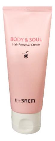 Крем для депиляции Body & Soul Hair Removal Cream 80мл