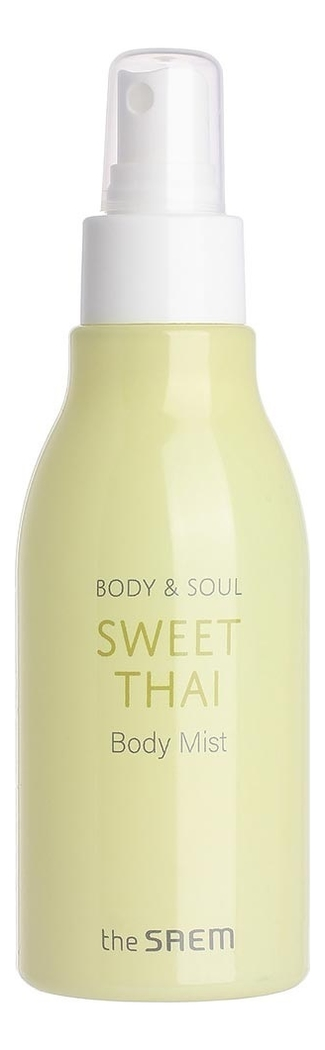 Мист для тела Body & Soul Sweet Thai Body Mist 150мл мист для увлажнения кожи luminous real radiance mist 105 мл the saem eco soul