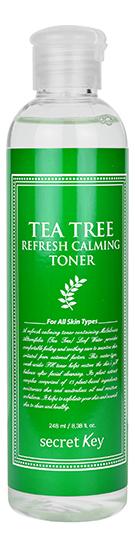 Тонер для лица с экстрактом чайного дерева Tea Tree Refresh Calming Toner 248мл успокаивающий тонер для лица ac collection calming liquid intensive 125мл