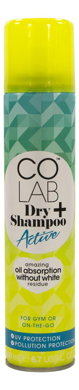 Сухой шампунь для волос прозрачный Active 200мл (классический аромат)