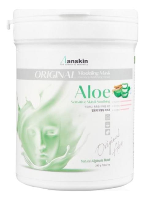 Маска альгинатная с экстрактом алоэ Aloe Modeling Mask 240г: Маска 240г увлажняющая маска с алоэ