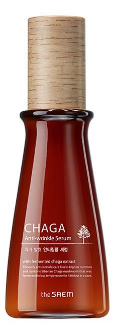 Сыворотка антивозрастная Chaga Anti-Wrinkle Serum 65мл blithe сыворотка pressed serum tundra chaga антивозрастная спресованная 50г
