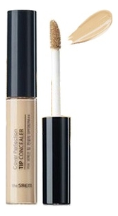 Точечный консилер для лица Cover Perfection Tip Concealer SPF28 РА++ 6,5г: 01 Clear Beige консилер the saem cover perfection pot concealer 01 цвет 01 clear beige variant hex name d2ab8a