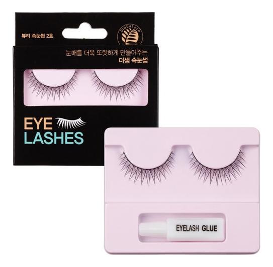 Накладные ресницы Eyelashes: 02 накладные ресницы 02 eyelashes 2 the saem eyelash