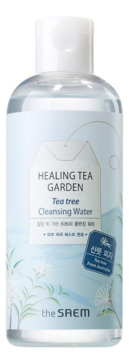 Очищающая вода с экстрактом чайного дерева Healing Tea Garden Tea Tree Cleansing Water 300мл: Очищающая вода 300мл очищающая вода урьяж