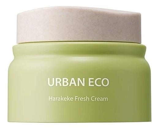 Освежающий крем для лица с экстрактом новозеландского льна Urban Eco Harakeke Fresh Cream 60мл глубоко увлажняющий крем с экстрактом новозеландского льна the saem urban eco harakeke root deep cream