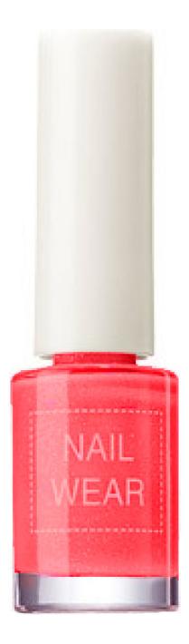 Лак для ногтей Nail Wear 7мл: 05 Bright Red лак для ногтей nail wear 7мл no 31
