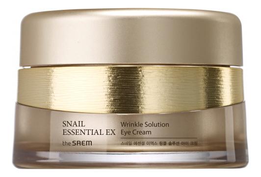 Крем для области вокруг глаз антивозрастной Snail Essential EX Wrinkle Solution Eye Cream 30мл трехфазное средство для увлажнения the saem the essential triplus hydrating ampoule 30мл