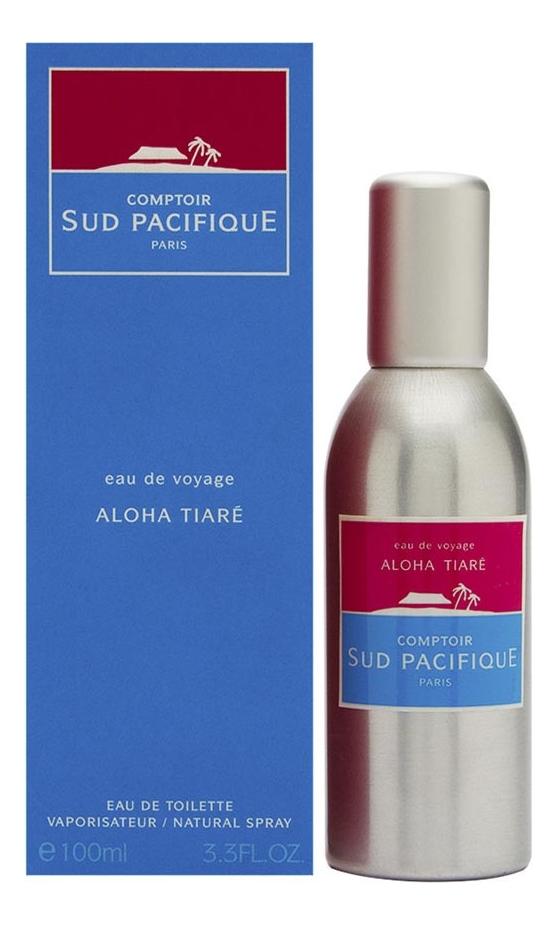 Comptoir Sud Pacifique Aloha Tiare Eau de Toilette: туалетная вода 100мл аромадиффузор arome le comptoir de paris arome le comptoir de paris mp002xu02rg4