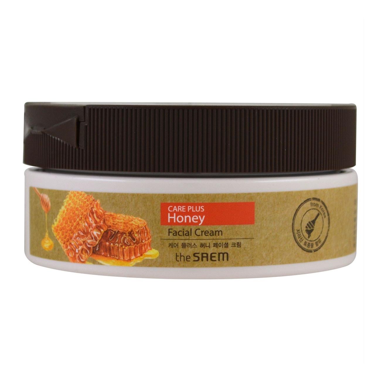 Крем для лица медовый Care Plus Honey Facial Cream 200мл медовый крем the saem care plus honey facial cream
