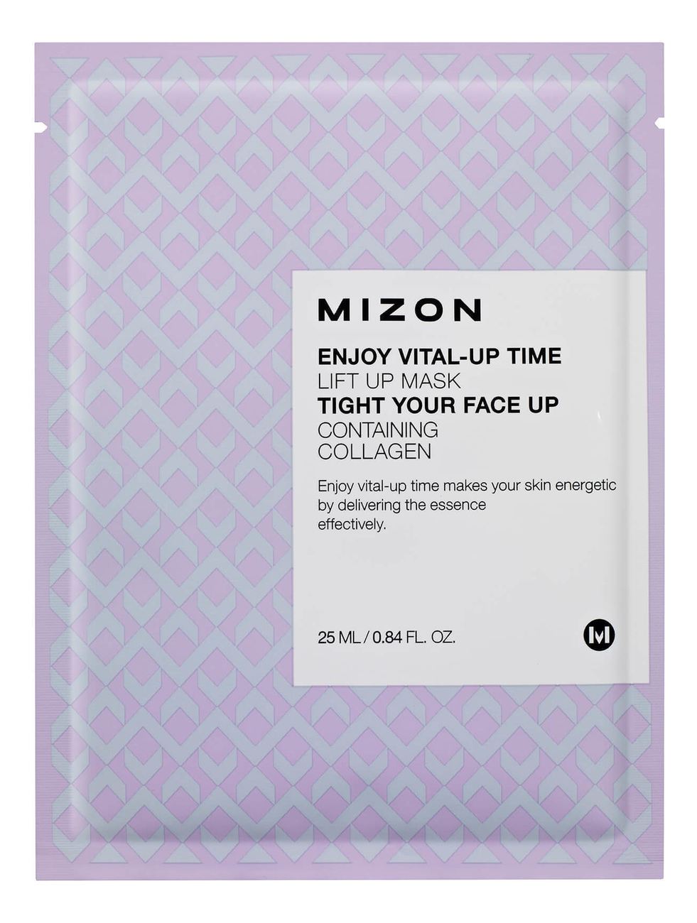 Маска листовая для лица с лифтинг эффектом Enjoy Vital-Up Time Lift Up Mask 25мл