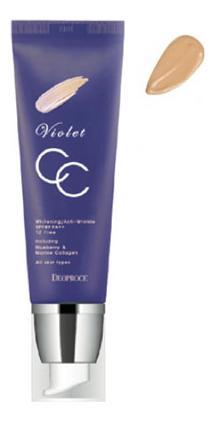 CC крем для лица Violet CC Cream SPF49 PA++ 50г: 21 Natural Beige осветляющий cc крем для лица crystal whitening cream spf50 pa 50мл natural beige