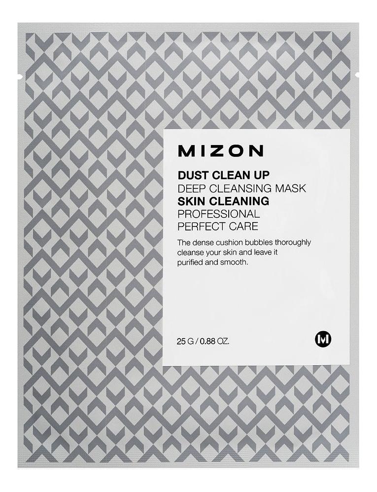 Тканевая маска для лица очищающая Dust Clean Up Deep Cleansing Mask 25г