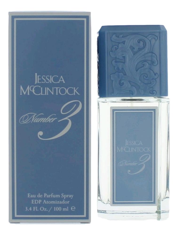 Фото - Jessica McClintock Jessica Number 3: парфюмерная вода 100мл босоножки jessica wright jessica wright je014awhhf49