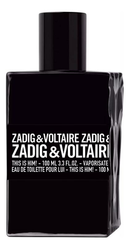 Zadig & Voltaire This is Him : туалетная вода 100мл тестер сумка zadig