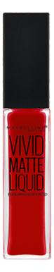 Жидкая матовая помада Color Sensational Vivid Matte Liquid 8мл: 35 Взрывной рубин