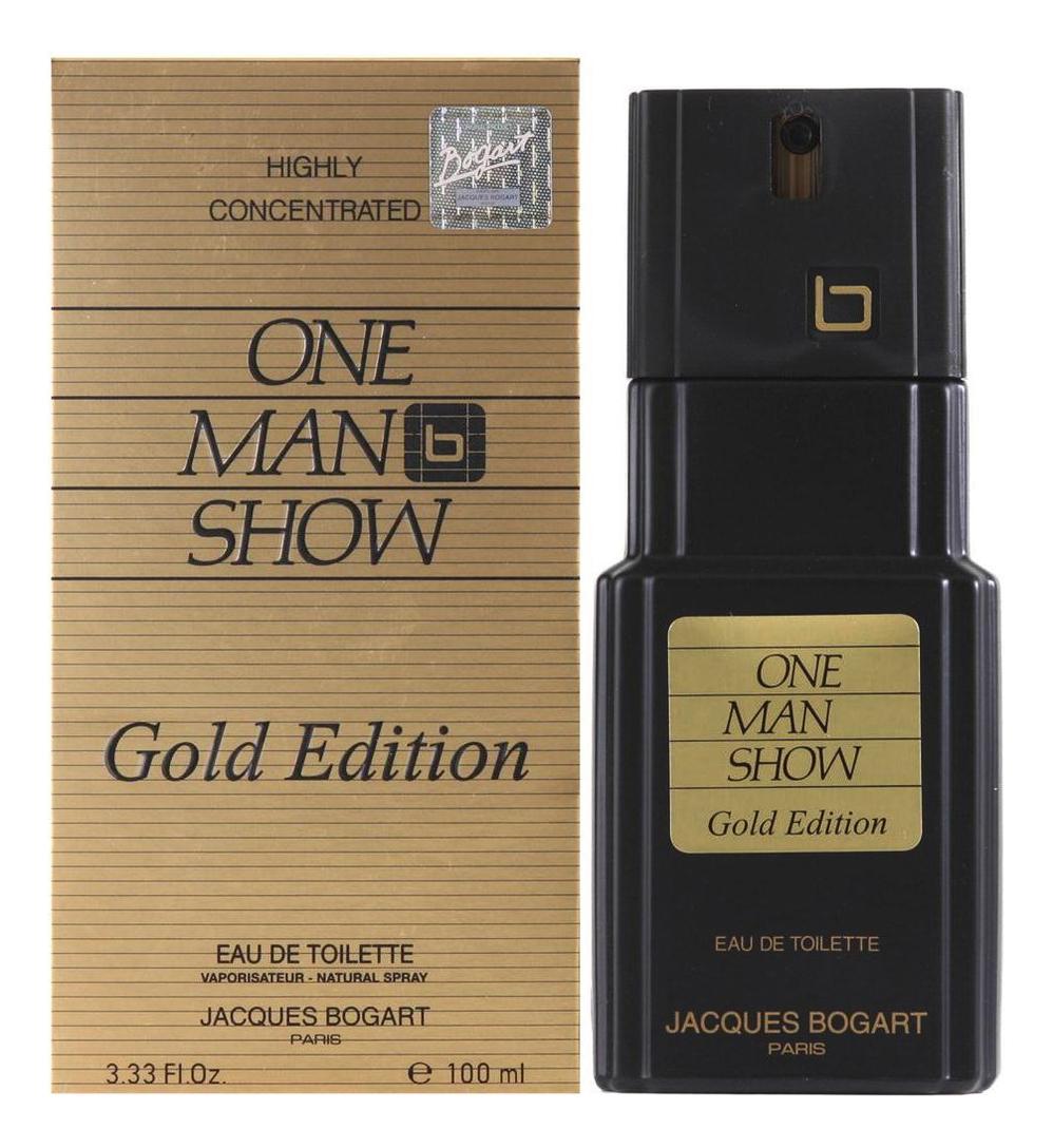 Jacques Bogart One Man Show Gold Edition: туалетная вода 100мл jacques bogart silver scent туалетная вода 100мл