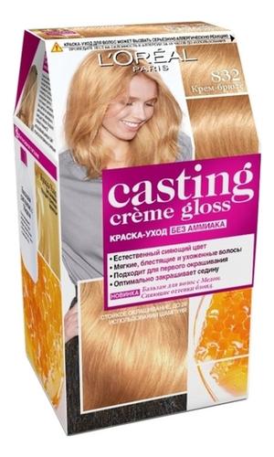 Крем-краска для волос Casting Creme Gloss: 832 Крем-брюле крем краска для волос casting creme gloss 400 каштановый
