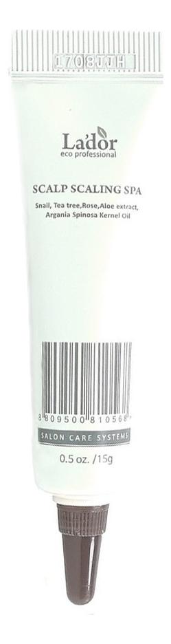 Пилинг для волос Scalp Scaling Spa: 15г