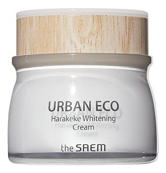 Осветляющий крем для лица с экстрактом новозеландского льна Urban Eco Harakeke Whitening Cream 60мл глубоко увлажняющий крем с экстрактом новозеландского льна the saem urban eco harakeke root deep cream