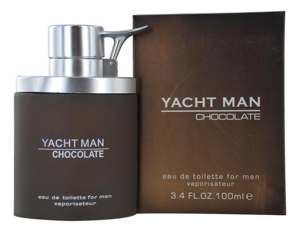 Yacht Man Chocolate: туалетная вода 100мл 001 man туалетная вода 100мл