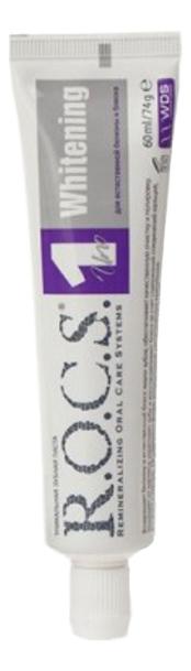 Купить Зубная паста Отбеливание Uno Whitening 74г, R.O.C.S.