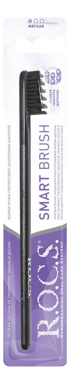 Зубная щетка Модельная (мягкая, в ассортименте)