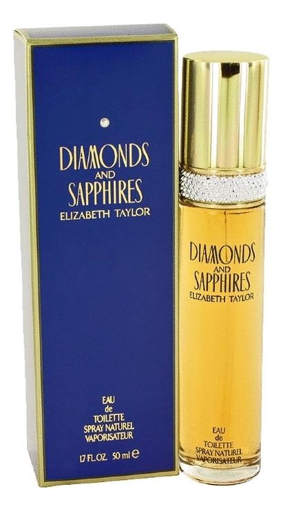 Elizabeth Taylor Diamonds and Sapphires: туалетная вода 50мл