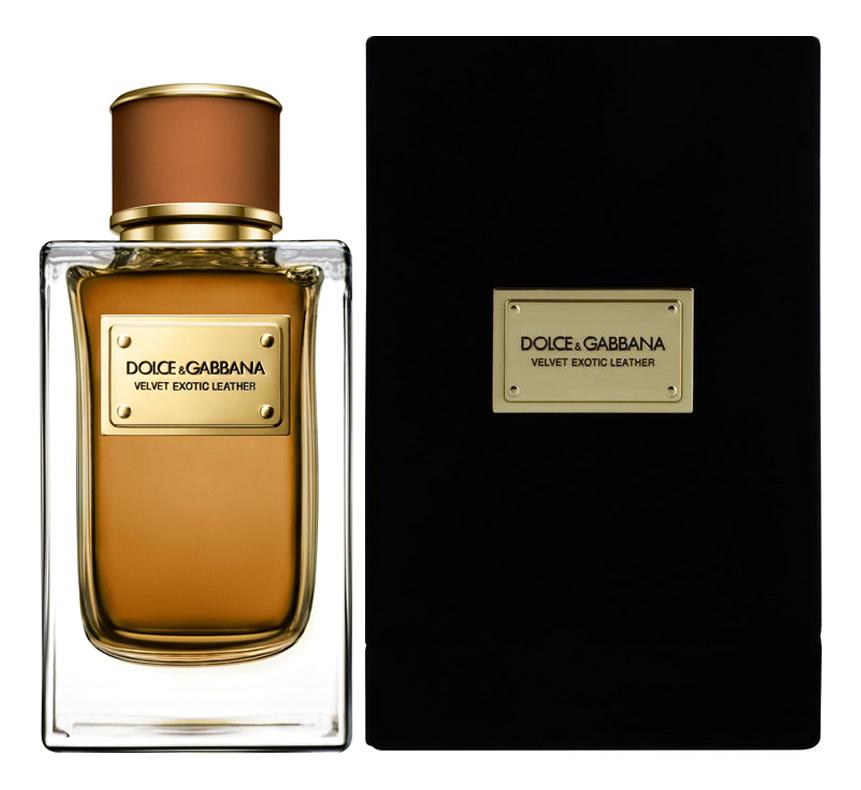 Dolce Gabbana (D&G) Velvet Exotic Leather: парфюмерная вода 150мл dolce gabbana velvet mimosa bloom туалетные духи 150 мл