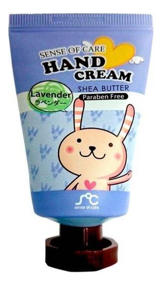 Крем для рук с маслом ши и экстрактом лаванды Sense of Care Hand Cream Lavender Shea Butter 35г rainbowbeauty sense of care крем для рук с маслом ши и экстрактом розы 35 г