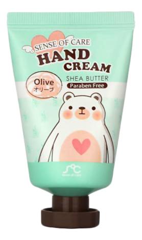 Крем для рук с маслом ши и экстрактом оливы Sense of Care Hand Cream Olive Shea Butter 35г цена 2017