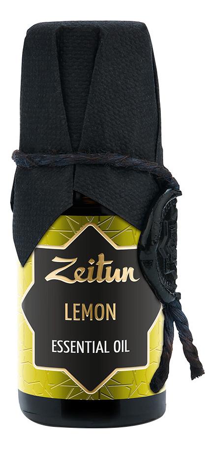 Эфирное масло Лимон Lemon Essential Oil 10мл эфирное масло кайепут cajeput essential oil 10мл