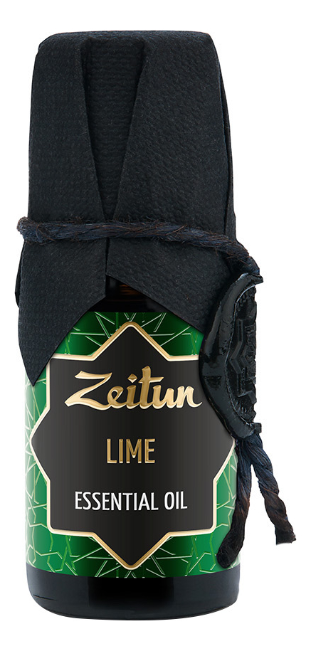 Эфирное масло Лайм Lime Citrus Latifolia Essential Oil 10мл эфирное масло кайепут cajeput essential oil 10мл