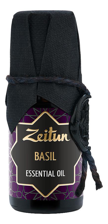Эфирное масло Базилик Basil Ocimum Basilicum Essential Oil 10мл