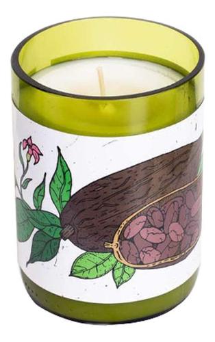 Ароматическая свеча 250г (какао и табак) ароматическая свеча в стекле anette 250г