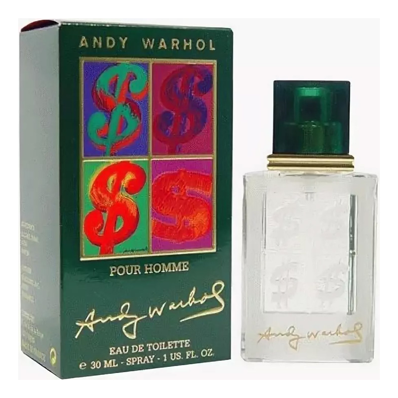 Andy Warhol Pour Homme: туалетная вода 30мл andy warhol дезодорант 100мл