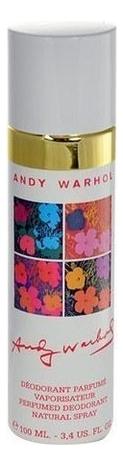 цена на Andy Warhol: дезодорант 100мл