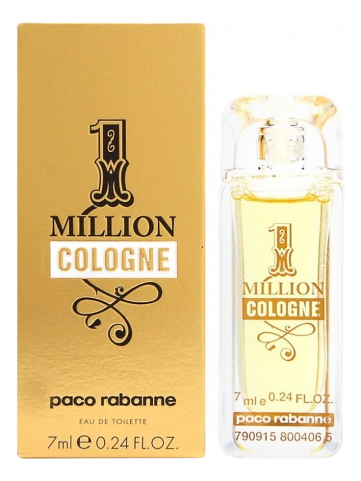 цена Paco Rabanne 1 Million Cologne: туалетная вода 7мл онлайн в 2017 году