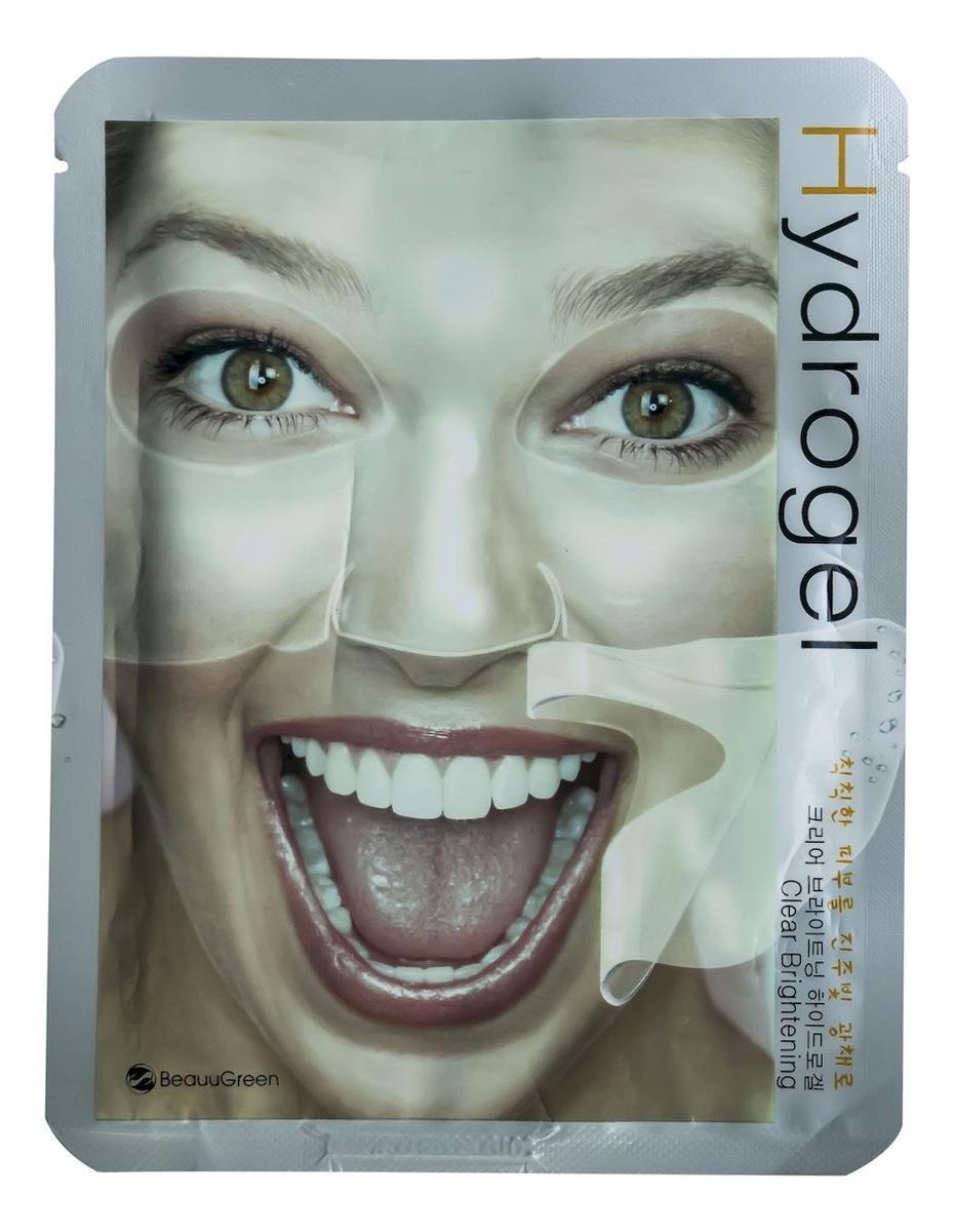 Гидрогелевая маска для лица Осветляющая Clear Brightening Hydrogel Mask 30г
