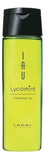 Шампунь для волос охлаждающий IAU Lycomint Cleansing Icy: Шампунь 200мл