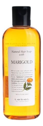 Шампунь для волос с экстрактом календулы и ромашки Natural Hair Soap With Marigold: Шампунь 240мл lebel natural hair soap treatment marigold шампунь с календулой 240 мл
