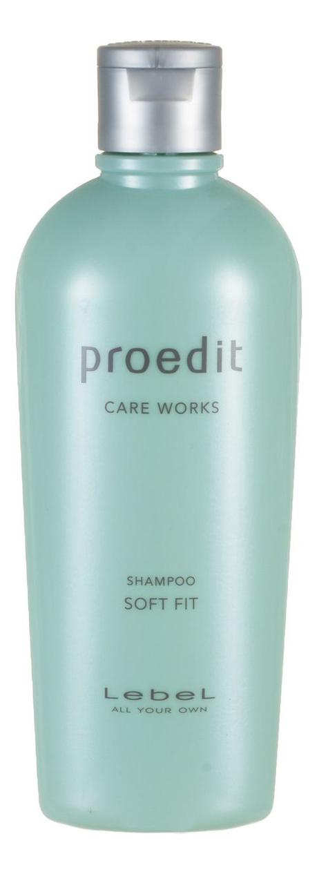Купить Шампунь для жестких волос Proedit Care Works Shampoo Soft Fit: Шампунь 300мл, Lebel